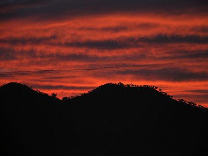 Un magnifique coucher de soleil aux Philippines
