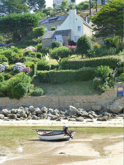 Barque bretonne (le Yaudet)