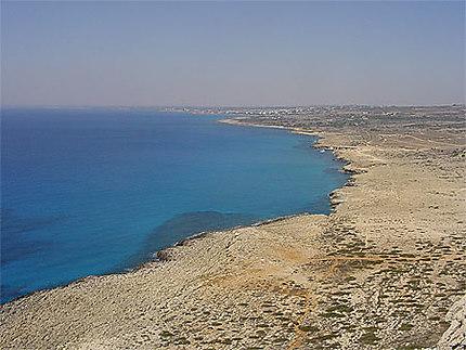 La côte chypriote