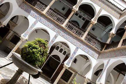 Alger - Palais Mustapha Pacha - Le patio