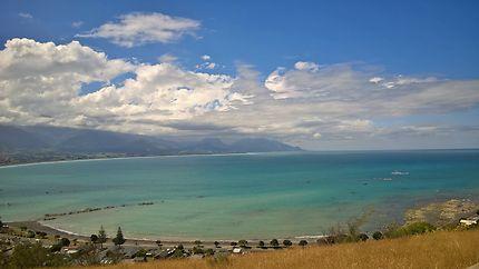 Vue panoramique sur le Pacifique