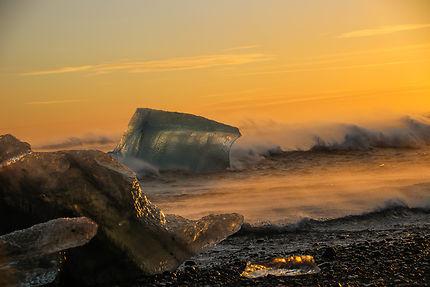 Iceberg à Jokulsarlon