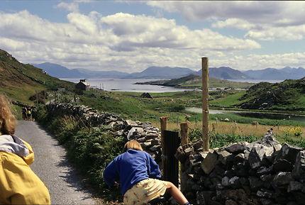 Sur l'île d'Inishbofin