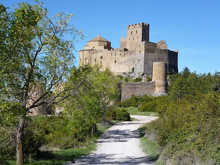 Château de Loarre, Aragon, Espagne
