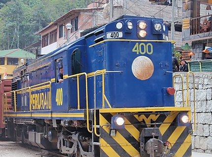 Backpacker Locomotive
