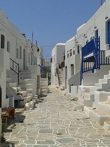 Une ruelle de l'Île de Folégandros