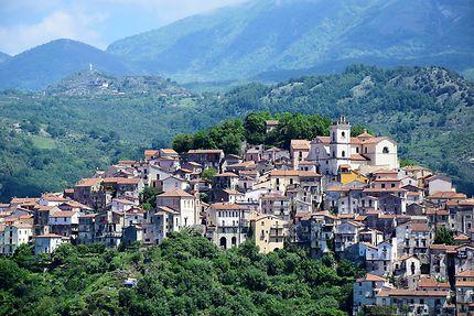 Rivello, village de Basilicate