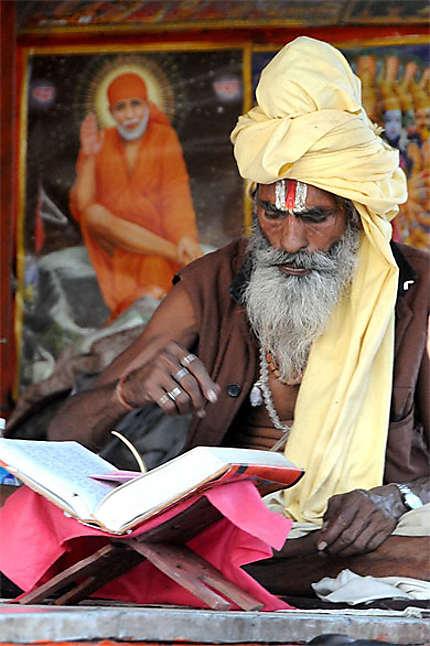 Sadhu à Pushkar