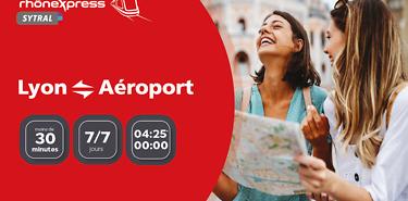 Réservez votre transfert Lyon <> Aéroport