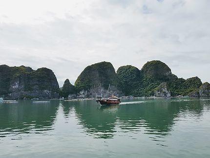 La beaute de la baie magique d'Halong