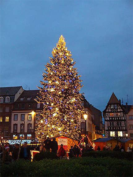 Sapin de Noël de la place Kléber