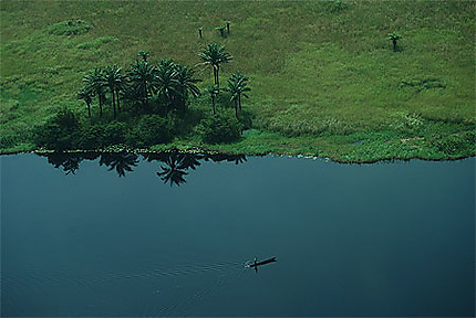 Paysage du nord de Mbandaka