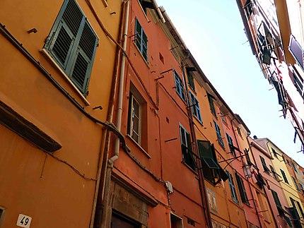 Maisons de ruelle - Portovenere