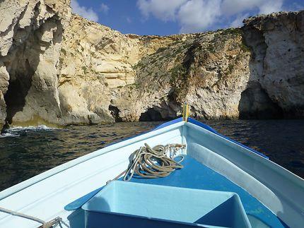 En route vers la grotte bleue