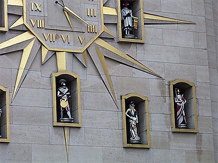 Mont des Arts - l'Horloge
