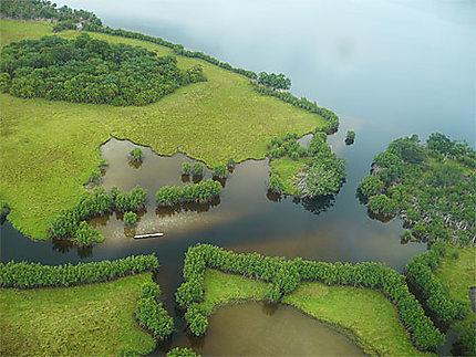 Vue aérienne Loango parc