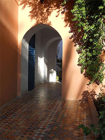 Sortie du Palais de la Bahia
