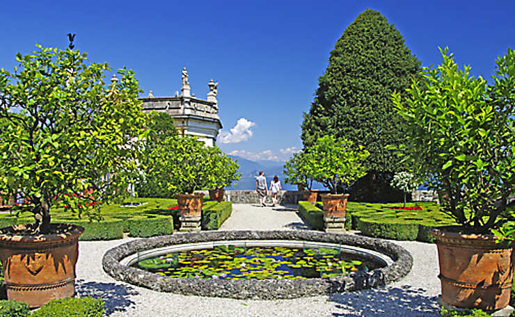 Les lacs italiens, côté jardins
