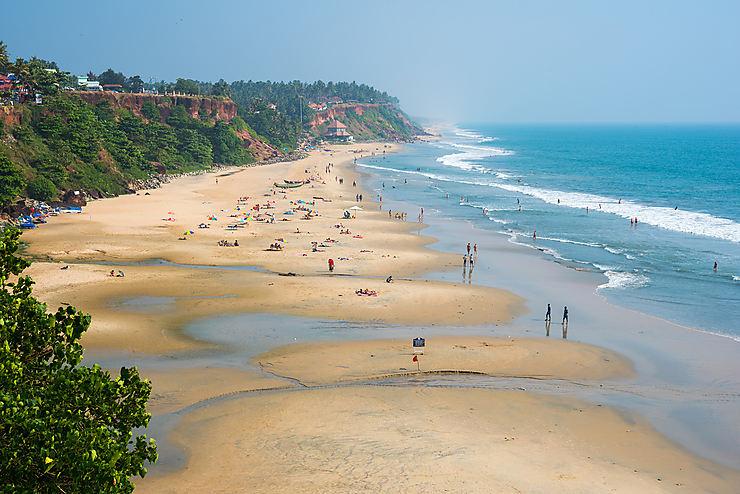Varkala et Kovalam, le Kerala côté plage