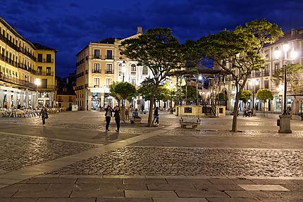 Plaza Mayor de nuit