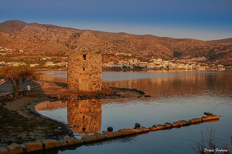 Elounda, Crète