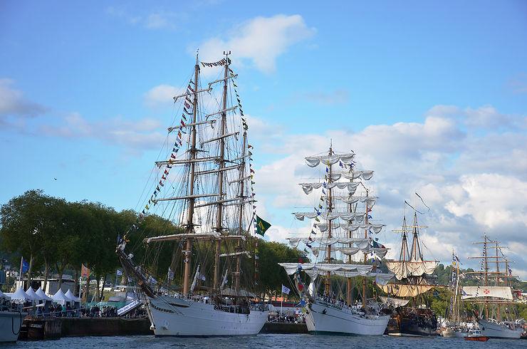 L'Armada entre en Seine