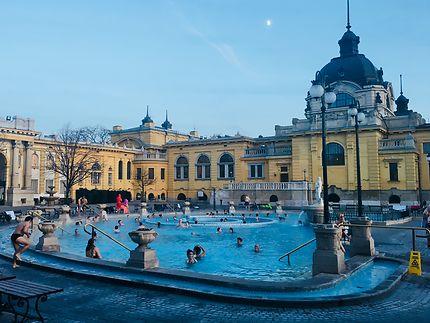 Les bains au Bois de la Ville
