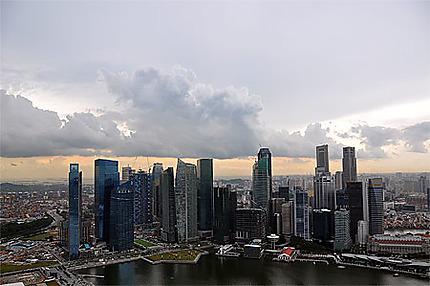 Central Business District depuis le Skypark