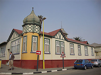 Architecture allemande de Swakopmund