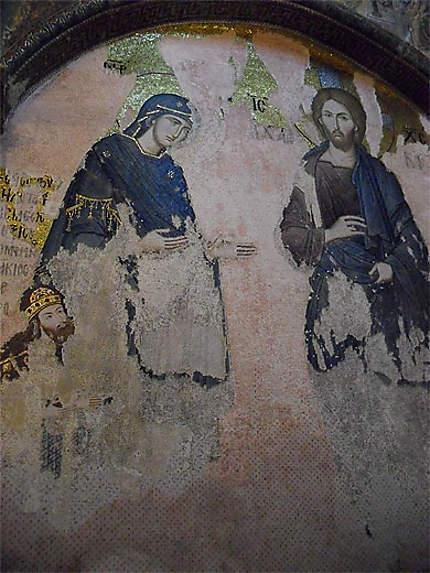 Fresque de la Sainte-Famille