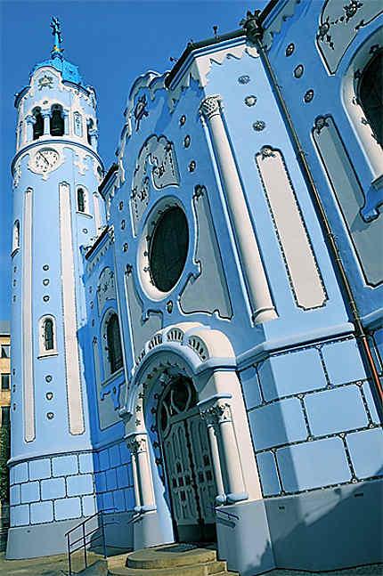 L'église bleue