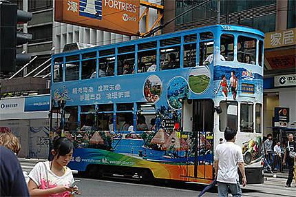 Des tramways colorés