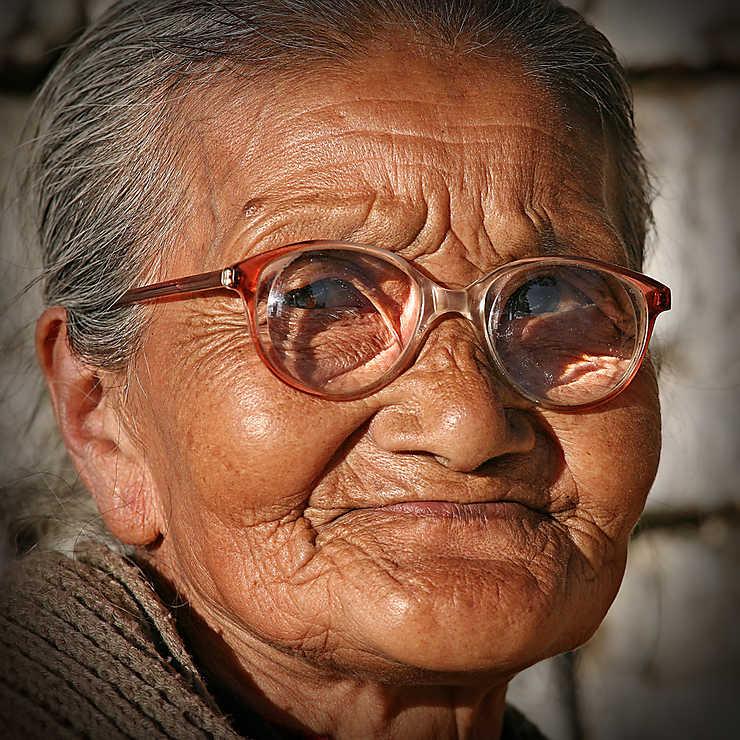 Réfugiée Tibétaine à Darjeeling