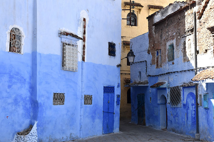 3e jour : excursion à Chefchaouen, la médina bleue
