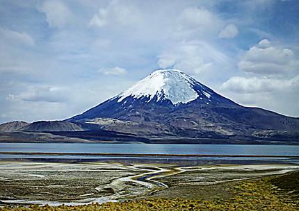 Le volcan Parinacota