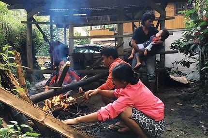 La cuisine traditionel en pays Toraja