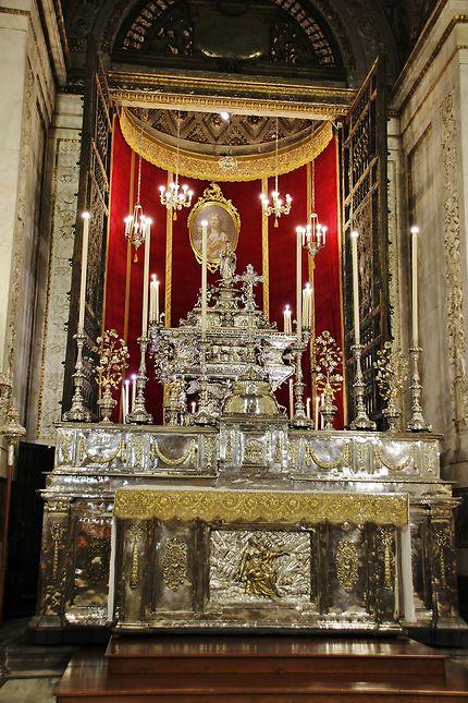 Plafond de la cathédrale de Palerme