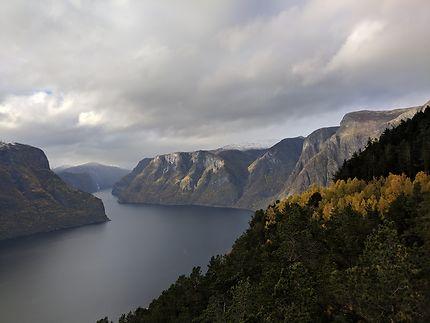 Fjord Aurland, Norvège