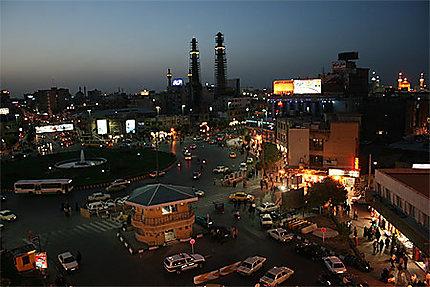 Mashhad by night