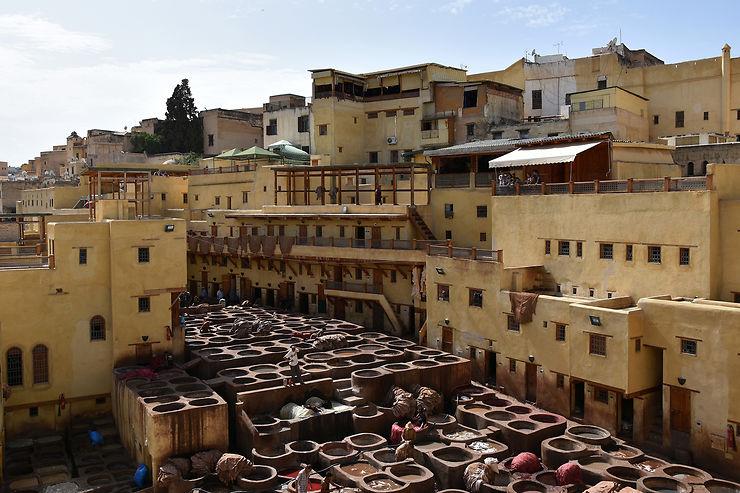 2e jour : quartiers des potiers, tanneries, quartier andalou