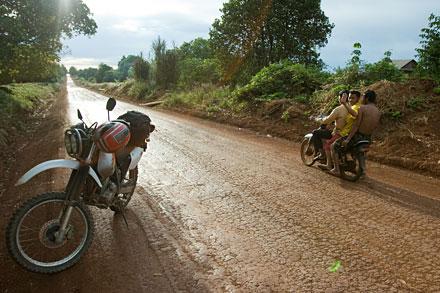 Banlung, capitale d'une province sans bitume