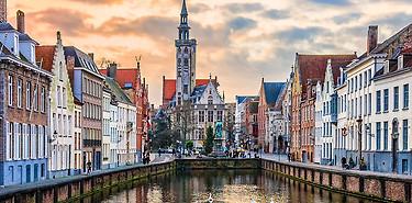 Réserver un weekend à Bruges
