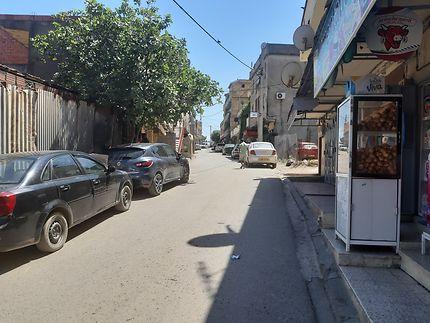 Rue du centre ville de Tizi Gheniff