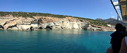 Excursion en bateau autour de l'île