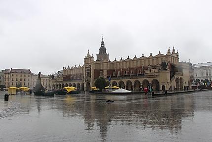 Cracowie - place du marché principal