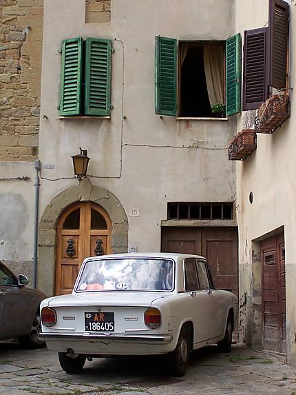Arezzo - Vielle Lancia Fulvia