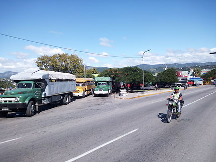 Gare routière à Santiago de Cuba