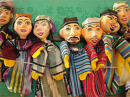 Marionnettes ouzbek