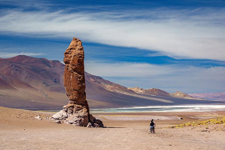 La route du salar de Tara : l'altiplano dans toute sa splendeur