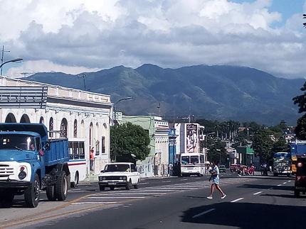 Avenida garzon à Santiago de Cuba